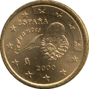 50 Euro Cent (1st type; 1st map) -  obverse
