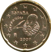 20 Euro Cent (1st type; 2nd map) -  obverse