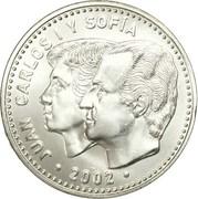 12 Euro - Juan Carlos I (Spanish Presidency) -  obverse