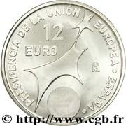 12 Euro - Juan Carlos I (Spanish Presidency) -  reverse