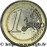 1 Euro - Juan Carlos I (2nd type - 2nd map) -  reverse