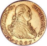 1 Escudo - Carlos IV – obverse