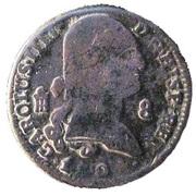 8 Maravedis - Carlos IV – obverse