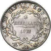 10 Reales - Fernando VII – reverse