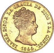 80 Reales - Isabel II (CONST) – obverse