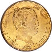320 Reales - Fernando VII – obverse
