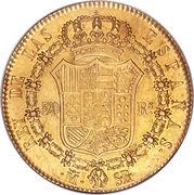 320 Reales - Fernando VII – reverse
