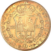 320 Reales - Jose I Bonaparte – reverse