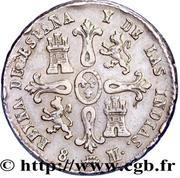 8 Maravedis - Isabel II (1st legend) – reverse
