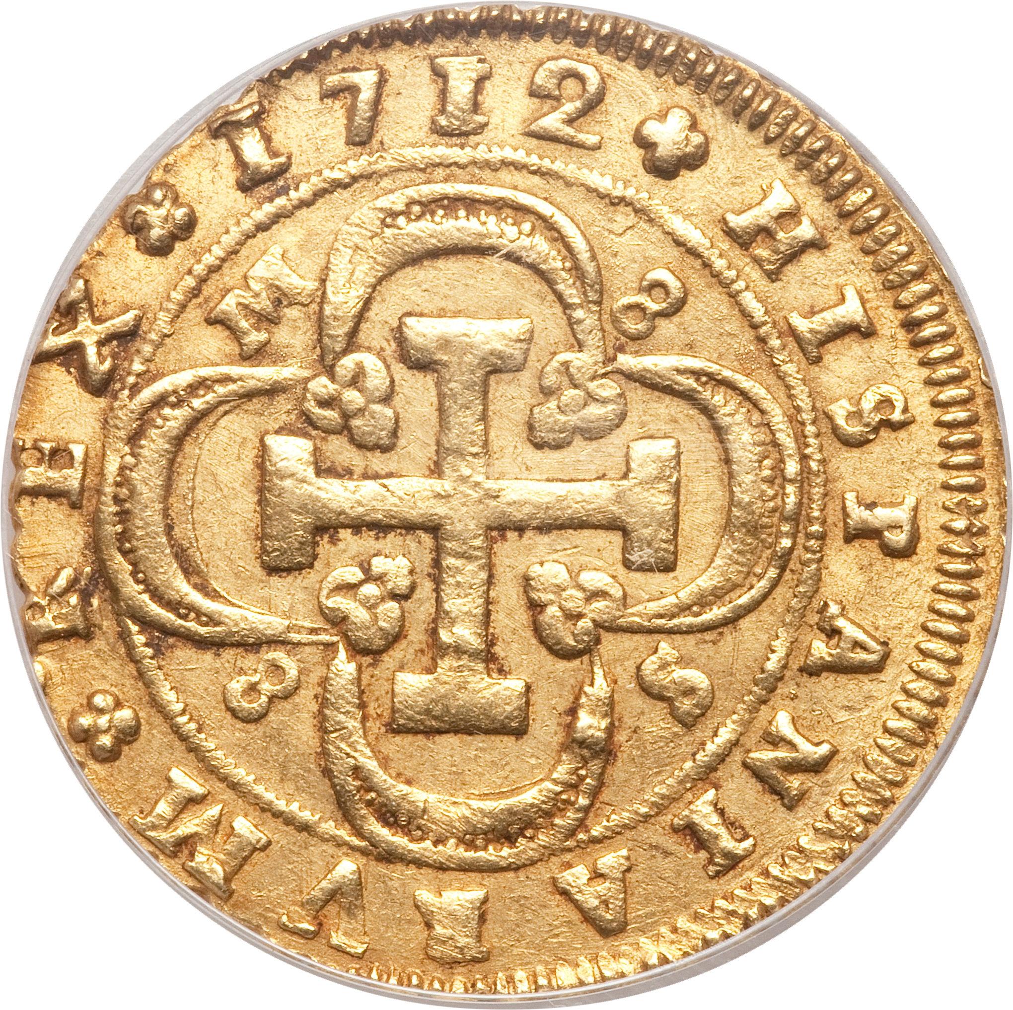 foto de 8 Escudos Felipe V (Seville; 1st type) Spain Numista