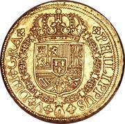8 Escudos - Felipe V (Seville,2nd type) – obverse