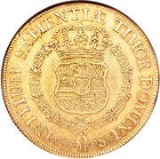 8 Escudos - Felipe V – reverse
