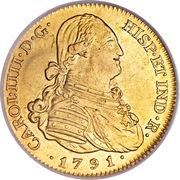 4 Escudos - Carlos IV – obverse