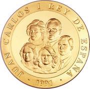 80 000 Pesetas - Juan Carlos I (El Pelele) – obverse