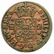 2 Maravedis - Felipe V (Segovia) – obverse