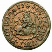 2 Maravedis - Felipe V (Segovia) – reverse