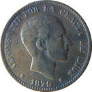 10 Centimos - Alfonso XII – obverse