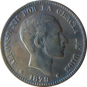 10 Centimos - Alfonso XII -  obverse