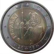 2 Euro (Don Quixote) -  obverse