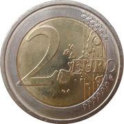 2 Euro (Don Quixote) -  reverse