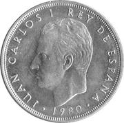5 Pesetas - Juan Carlos I (España '82) -  obverse