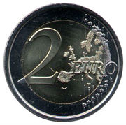 2 Euro (Escorial) -  reverse