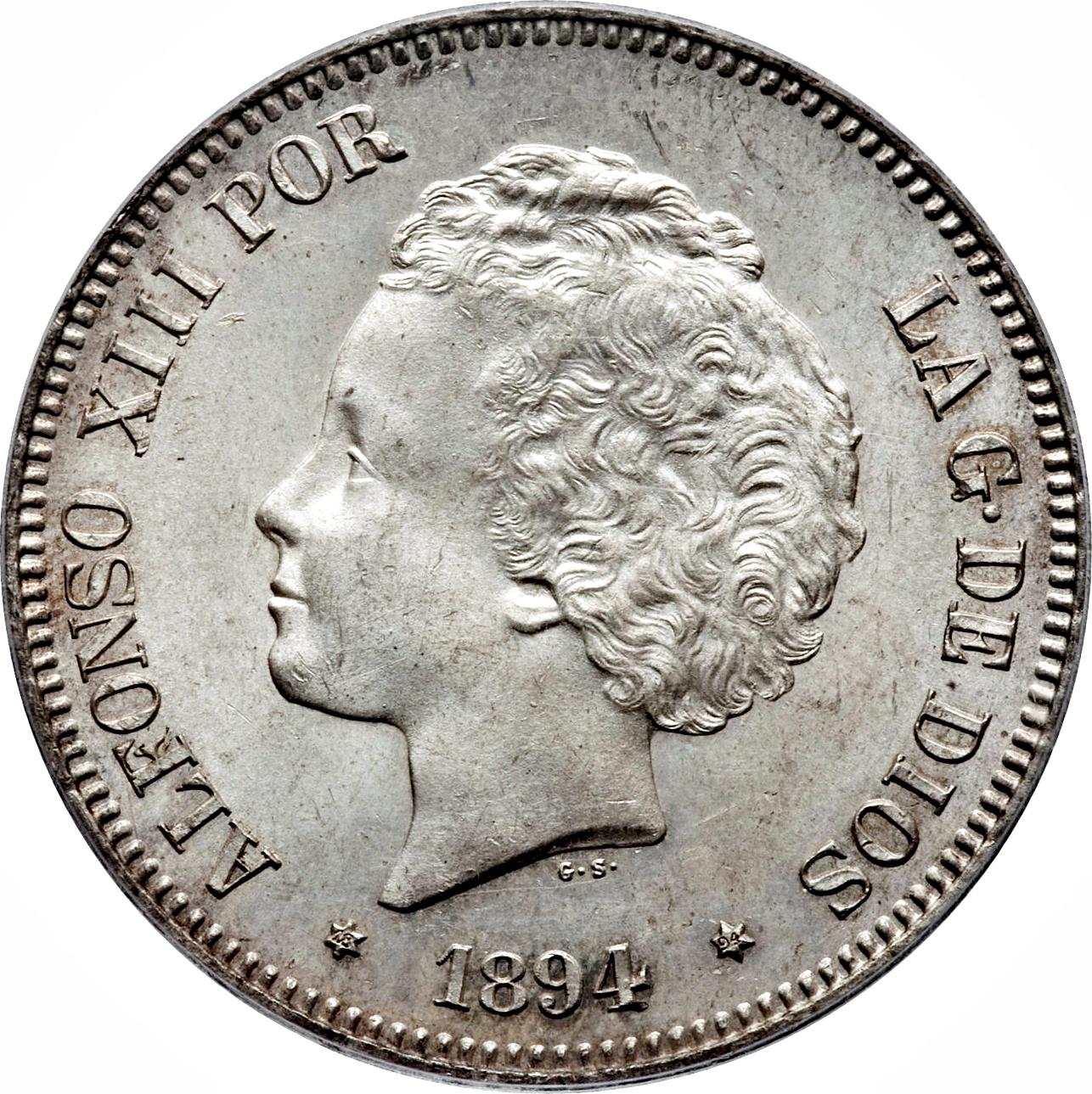 Alfonso XIII 1894 y 1901¿verdadera? G1914