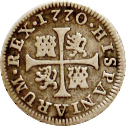 foto de ½ real Charles III Espagne Numista