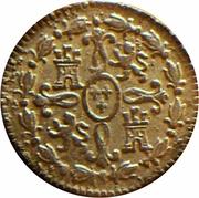 2 Maravedis - Carlos III – reverse