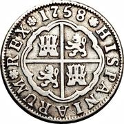 2 Reales - Fernando VI – reverse