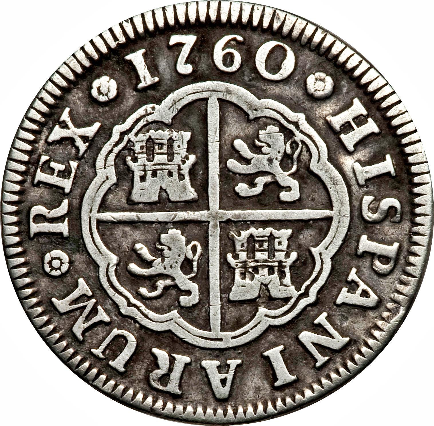 foto de 2 reales Carlos III Espagne Numista