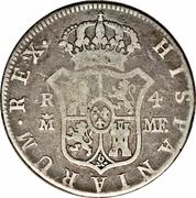 4 Reales - Carlos IV – reverse
