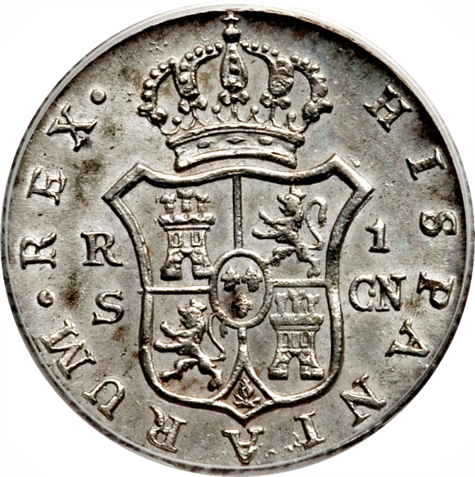 foto de 1 Real Carlos IV Spain Numista