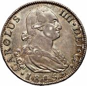 8 Reales - Carlos IV – obverse