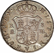 8 Reales - Carlos IV – reverse