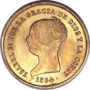 100 Reales - Isabel II – obverse