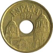 25 Pesetas (Melilla) -  obverse