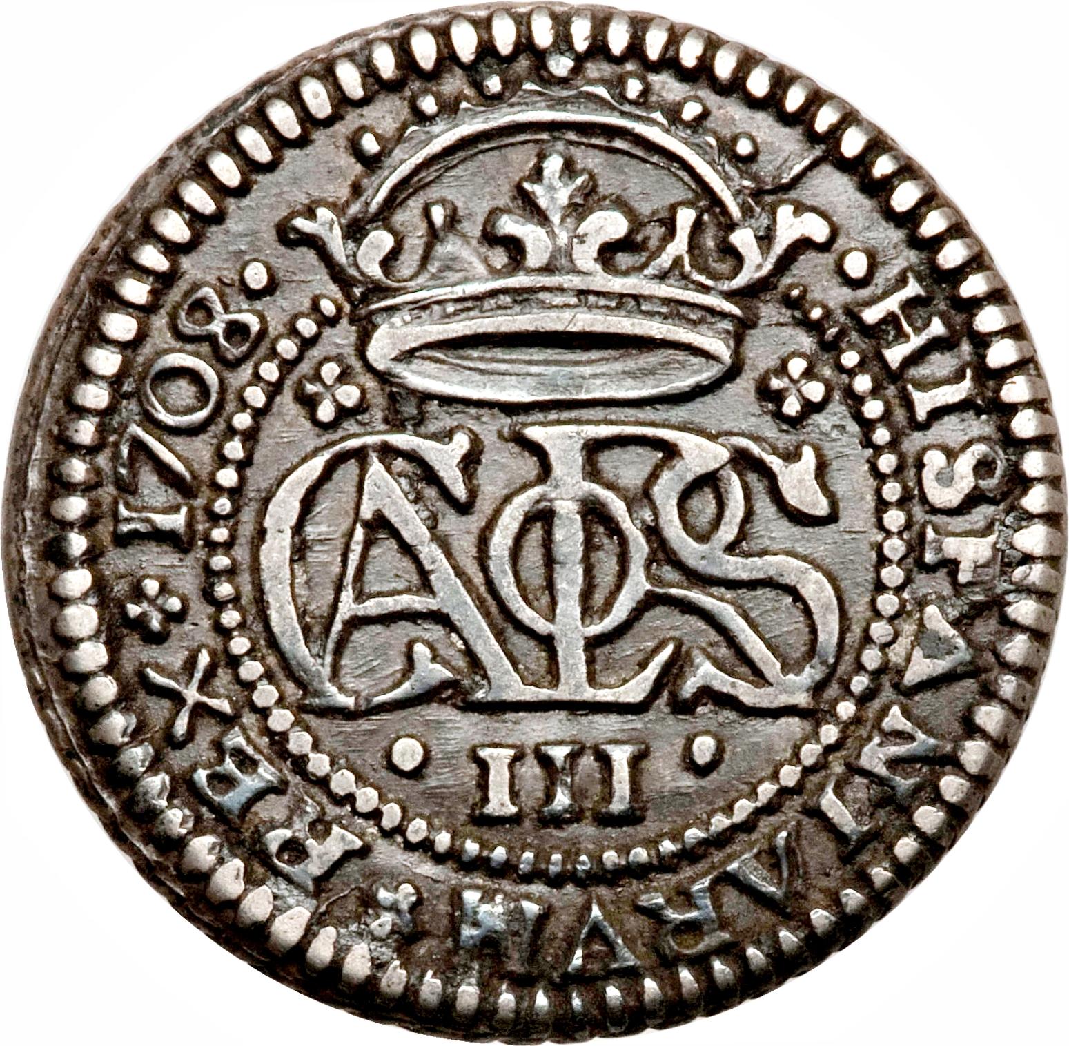 foto de 2 Reales Carlos III (pretender) Spain Numista