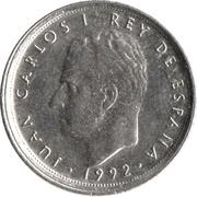 10 Pesetas - Juan Carlos I (Type 2 denomination) -  obverse