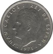 50 Pesetas - Juan Carlos I -  obverse