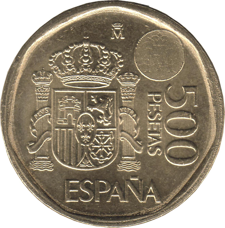 500 pesetas 1989 цена стоимость монет россии на 2017 год каталог