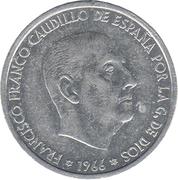50 Centimos - Francisco Franco -  obverse
