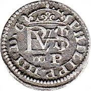 ½ Real - Felipe IV (Segovia) – obverse