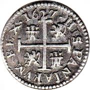 ½ Real - Felipe IV (Segovia) – reverse