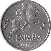 10 Centimos - Iberian rider -  obverse