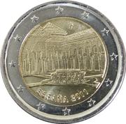 2 Euro (Alhambra) -  obverse