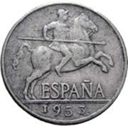 5 Centimos - Iberian rider -  obverse