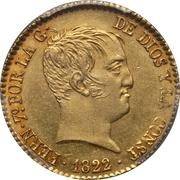 80 Reales - Fernando VII – obverse
