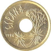 25 Pesetas (Canary Islands) -  obverse