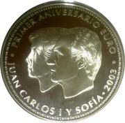 50 Euro - Juan Carlos I (Euro Introduction) -  obverse